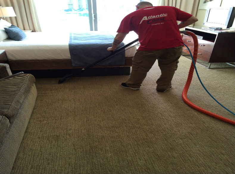 resort carpet cleaning