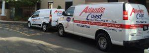Atlantic Coast Carpet Cleaning van