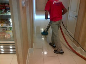 resort tile cleaning